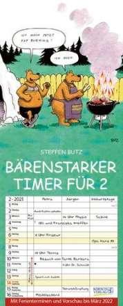Bärenstarker Timer für 2 2021, Kalender