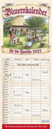 Bauernkalender 2021, Kalender