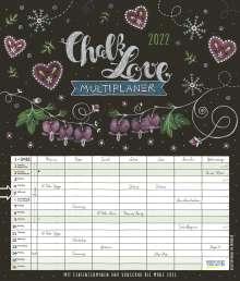 Multiplaner - Chalk Love 2022, Kalender