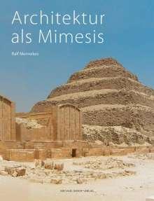 Ralf Mennekes: Architektur als Mimesis, Buch
