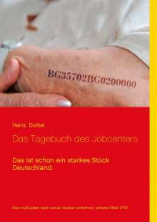Heinz Duthel: Das Tagebuch des Jobcenters, Buch