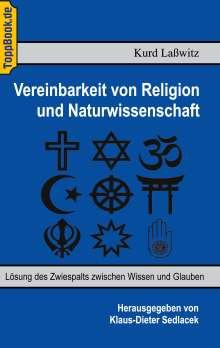 Klaus-Dieter Sedlacek: Vereinbarkeit von Religion und Naturwissenschaft, Buch