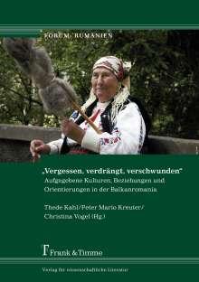 """""""Vergessen, verdrängt, verschwunden"""", Buch"""