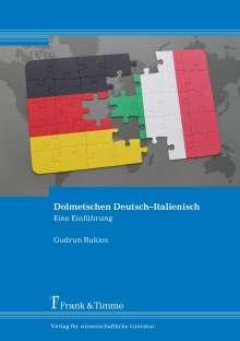 Gudrun Bukies: Dolmetschen Deutsch-Italienisch, Buch