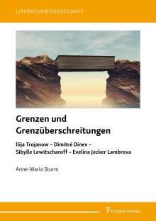 Anne-Maria Sturm: Grenzen und Grenzüberschreitungen, Buch