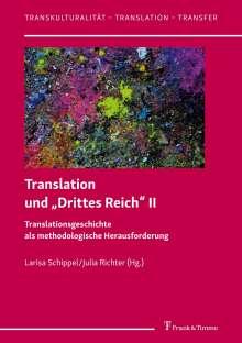 """Translation und """"Drittes Reich"""" II, Buch"""