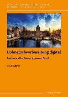 Gesa Büttner: Dolmetschvorbereitung digital, Buch