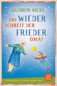 Gudrun Mebs: Und wieder schreit der Frieder Oma, Buch