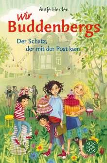 Antje Herden: Wir Buddenbergs - Der Schatz, der mit der Post kam, Buch