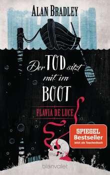 Alan Bradley: Flavia de Luce 9 - Der Tod sitzt mit im Boot, Buch