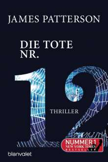 James Patterson: Die Tote Nr. 12, Buch