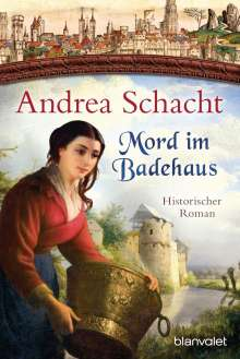 Andrea Schacht: Mord im Badehaus, Buch
