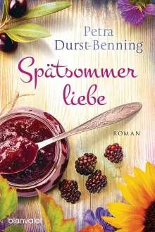 Petra Durst-Benning: Spätsommerliebe, Buch