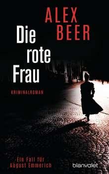 Alex Beer: Die rote Frau, Buch