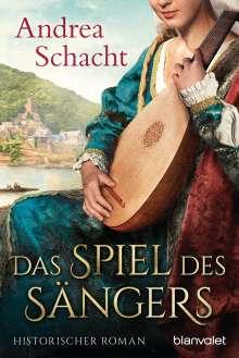 Andrea Schacht: Das Spiel des Sängers, Buch