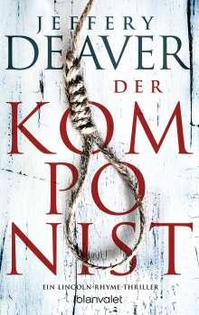 Jeffery Deaver: Der Komponist, Buch