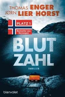 Thomas Enger: Blutzahl, Buch