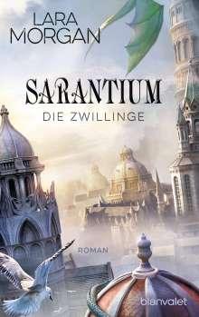Lara Morgan: Sarantium - Die Zwillinge, Buch