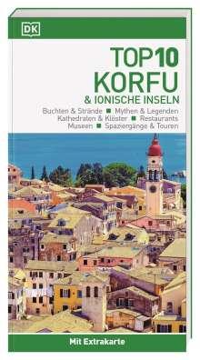 Top 10 Reiseführer Korfu & Ionische Inseln, Buch