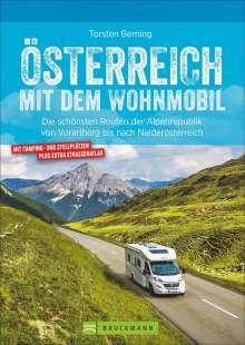 Torsten Berning: Österreich mit dem Wohnmobil, Buch