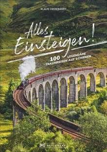 Klaus Viedebantt: Alles einsteigen!, Buch