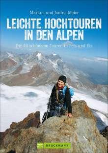 Markus Meier: Leichte Hochtouren in den Alpen, Buch