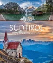 Eugen E. Hüsler: Highlights Südtirol, Buch
