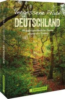 Joachim Burghardt: Vergessene Pfade Deutschland, Buch