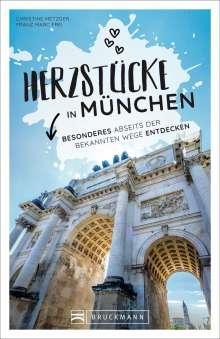 Christine Metzger: Herzstücke in München, Buch