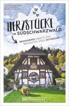 Nadja Eckerle: Herzstücke im Südschwarzwald, Buch