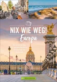 Barbara Rusch: Nix wie weg! Europa, Buch
