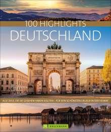 Axel Pinck: 100 Highlights Deutschland, Buch