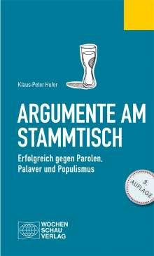 Klaus-Peter Hufer: Argumente am Stammtisch, Buch