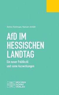 Benno Hafeneger: AfD im Hessischen Landtag, Buch