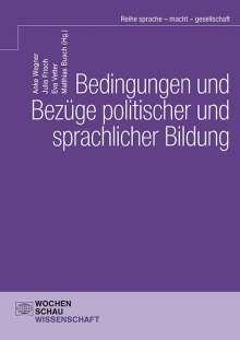 Bedingungen und Bezüge politischer und sprachlicher Bildung, Buch
