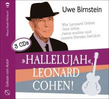 Uwe Birnstein: »Hallelujah«, Leonard Cohen!, 3 CDs