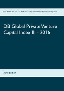 DB Global Private Venture Capital Index III - 2016, Buch