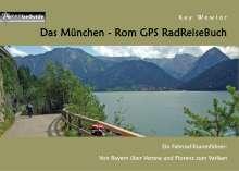 Kay Wewior: Das München - Rom GPS RadReiseBuch, Buch