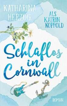 Katrin Koppold: Schlaflos in Cornwall, Buch