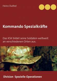 Heinz Duthel: Kommando Spezialkräfte 3 - Division Spezielle Operationen, Buch