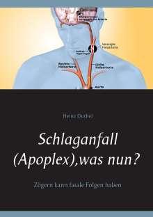 Heinz Duthel: Schlaganfall (Apoplex), was nun?, Buch
