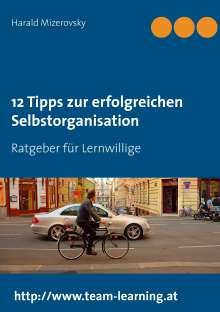 Harald Mizerovsky: 12 Tipps zur erfolgreichen Selbstorganisation, Buch