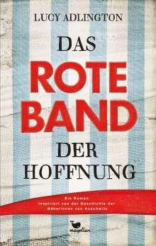 Lucy Adlington: Das rote Band der Hoffnung, Buch