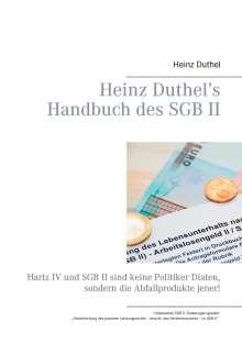 Heinz Duthel: Heinz Duthel's Handbuch des SGB II, Buch