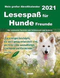 Hundefreunde 2021 Abreißkalender, Kalender