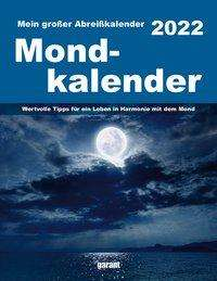 Mond 2022 Abreißkalender, Kalender
