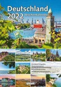 Deutschland 2022 Wochenkalender, Kalender