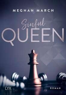 Meghan March: Sinful Queen, Buch