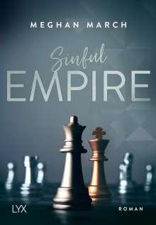 Meghan March: Sinful Empire, Buch