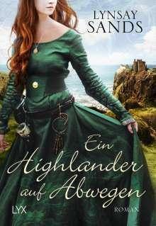 Lynsay Sands: Ein Highlander auf Abwegen, Buch